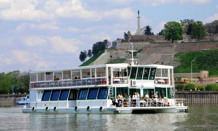 Enjoy Sightseeing in Beograd, Serbia on 98' Kej 1 Passenger Boat