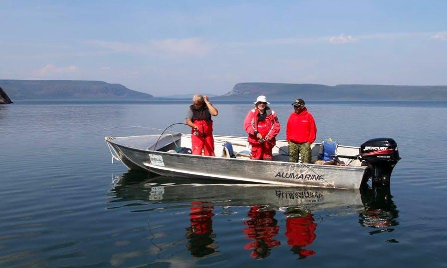 Fishing Charter in Edmonton, Canada