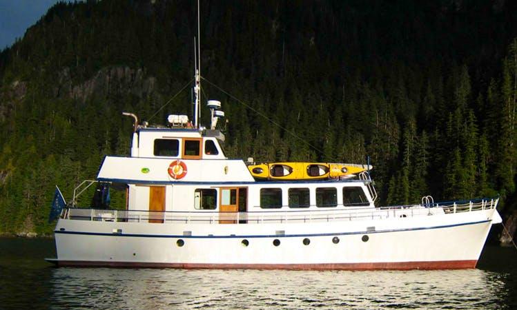 63' Wildlife Tour in Sitka, Alaska