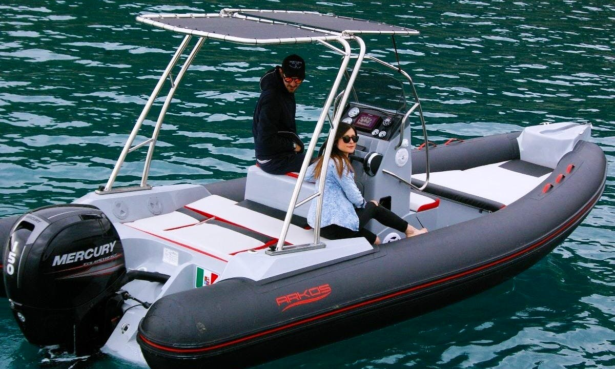 Rent this RIB in Bordighera, Italy with 6 of your best friends
