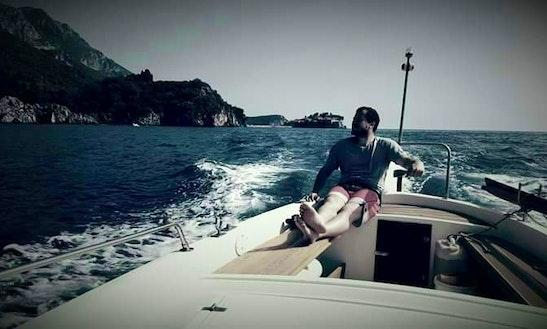 Taxi Boat - Fishing Sveti Stefan, Montenegro