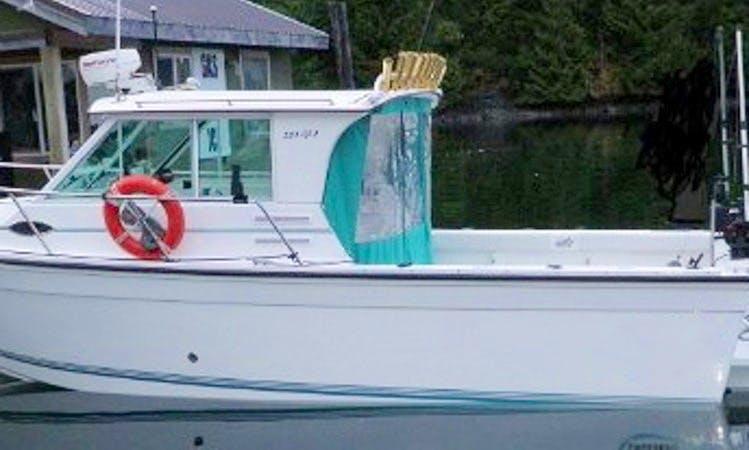 Guiding Fishing Charter In Comox