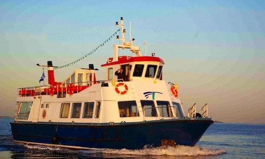 Steel Passenger Cruise Boat In Edinburgh
