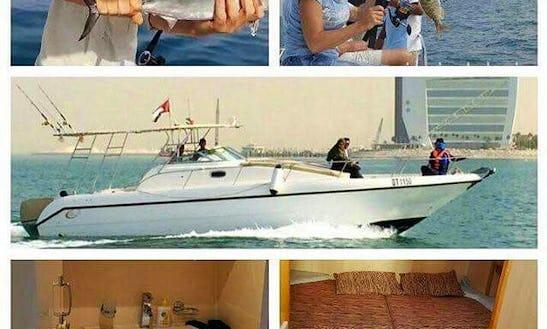 Awesome 36' Cuddy Cabin/walk Around For 10 Person In Dubai, Uae