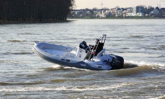 Rent 16' Mv Marine Rigid Inflatable Boat In Salerno, Italy