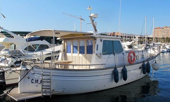 Houseboat Rental In Carboneras