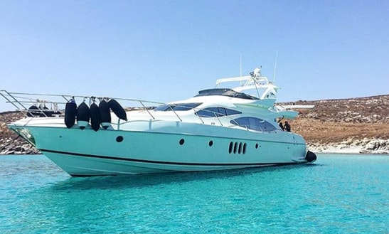 Charter 70'  Done Deal - Azimut Power Mega Yacht In Mikonos, Greece