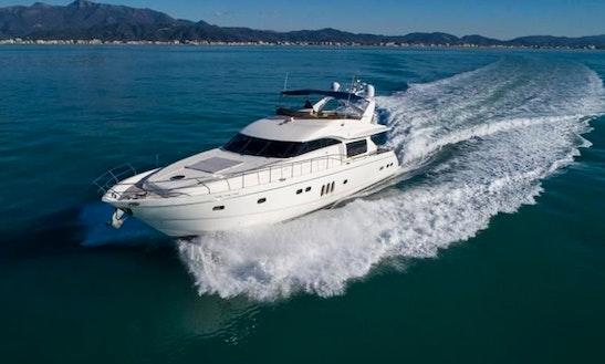 2008 Princess Power Mega Yacht Charter In Muğla, Turkey