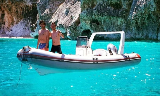 Rent 19' Rigid Inflatable Boat In Sardegna, Italy