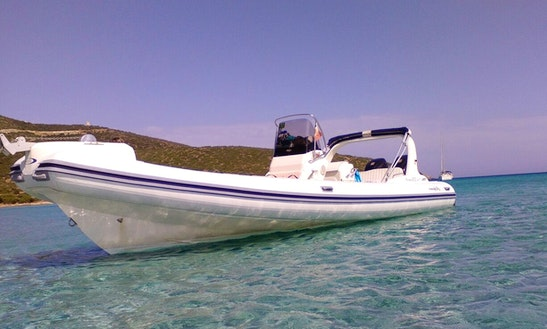 Rent A Rigid Inflatable Boat In Olbia, Italy