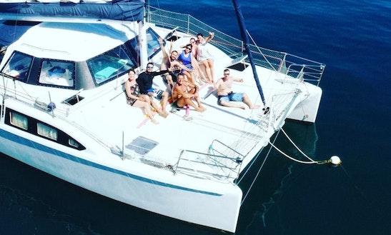 33' Sailing Catamaran Rental In Rio De Janeiro - Angra - Paraty - Ilha Grande