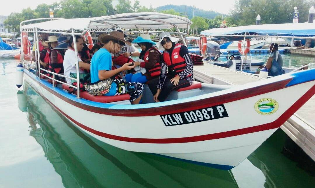 See the sights of Langkawi and charter a Canal Boat