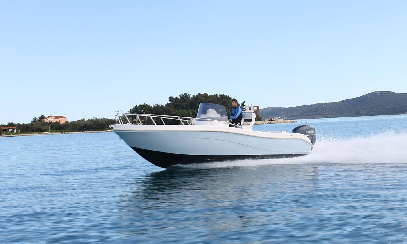Rent GS Nautica 650 - Center Console boat in Sukošan, Croatia