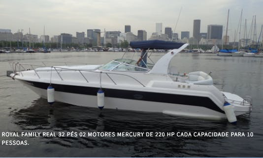 Charter a 9-Person Cuddy Cabin From in Rio de Janeiro