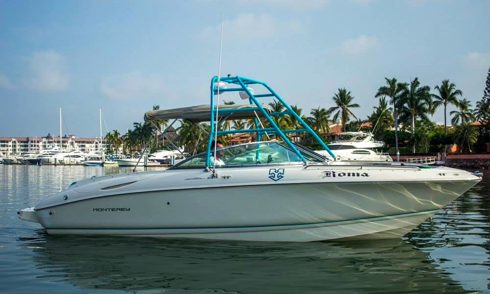 Rent this awesome wake boat in Puerto Vallarta - Monterrey 26