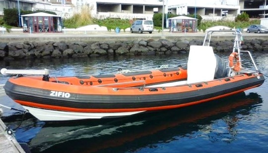Scuba Dive Boat In Ponta Delgada