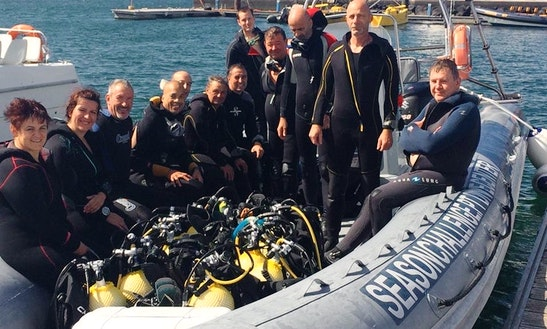 Enjoy Diving Courses And Trips In Ponta Delgada, Azores