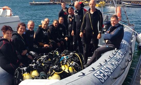 Enjoy Diving Courses And Trips In Ponta Delgada, Azores
