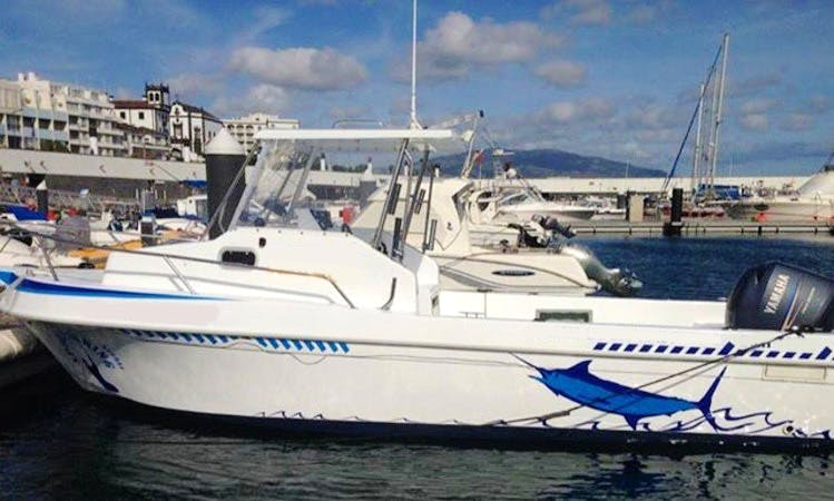 """Fishing Charter on """"Mare Nostrum I"""" Off the Island of São Miguel"""