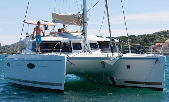 Charter 44' Helia 44 Crusing Catamaran In San-martino-di-lota, Portugal