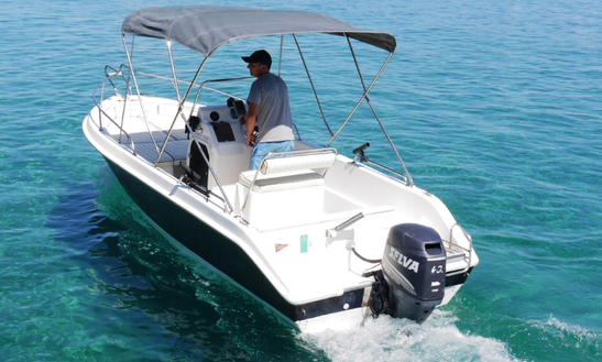 Rent 19' Terminal Center Console In Marciana Marina, Italy