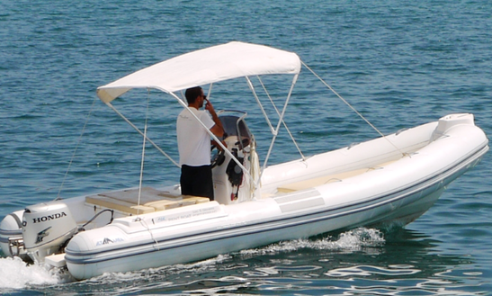 Rent 19' Alta Marea Inflatable Boat In Marciana Marina, Italy