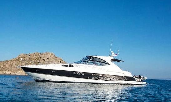 Charter Cruiser 560 Express Motor Yacht In Santorini, Greece