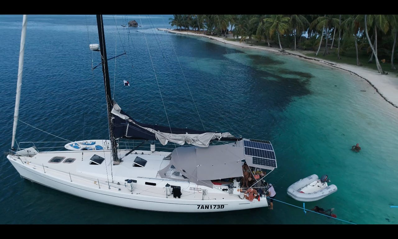Sailing to San Blas