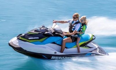 Sea-doo GTI Jet Ski Rental on Kampoos Lake