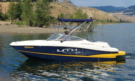 Rinker Mtx 220 Ss For 10 People On Kampoos Lake
