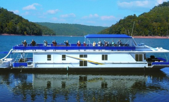 Atlantis Houseboat Rental In Norris Lake