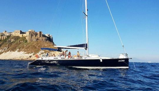 Sleek And Modern Cruising Monohull For Sailing Or Sleeping