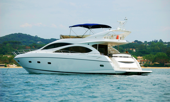 Alcudia Boat Charter On Sunseeker Manhattan 64