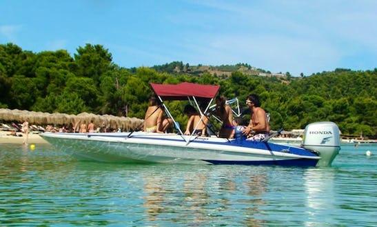 Charter A Dinghy In Skiathos, Greece