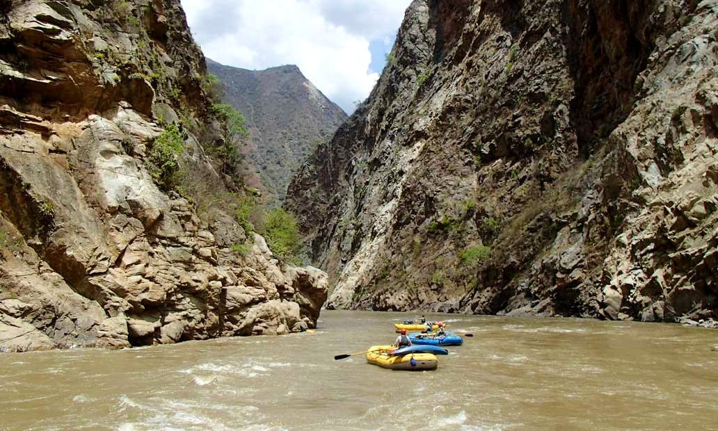 Marañón rafting tour (Inner Gorge: Grand Canyon of the Amazon)