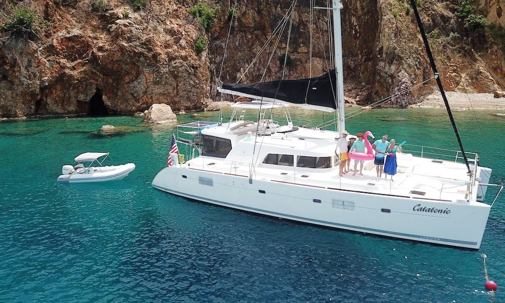 Catatonic 500, Luxury 51' Catamaran for Long Island Sound