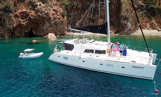 Catatonic 500, Luxury 51' Catamaran Available In Newport