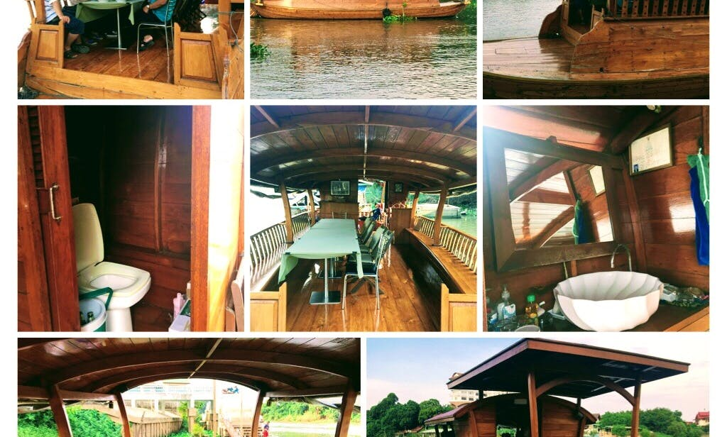 Enjoy Dinner Cruise in Ayutthaya, Thailand