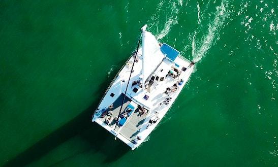 50' Chris White Design, Cruising Catamaran Rental In Beautiful Ponce Inlet Florida.