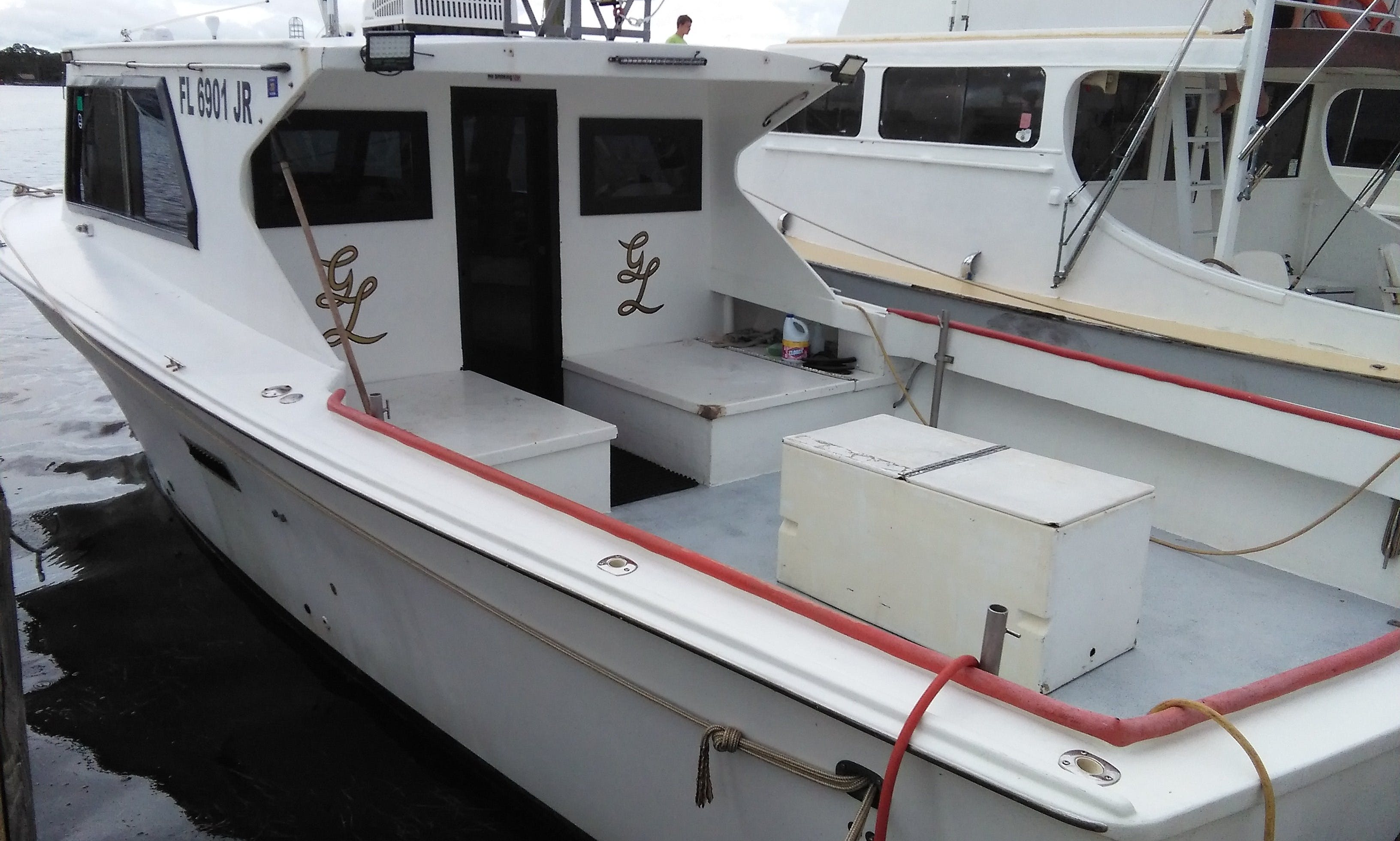 "Fishing Charter On 36ft ""Golden Legacy"" Sports Fisherman Yacht In Panama City Beach, Florida"