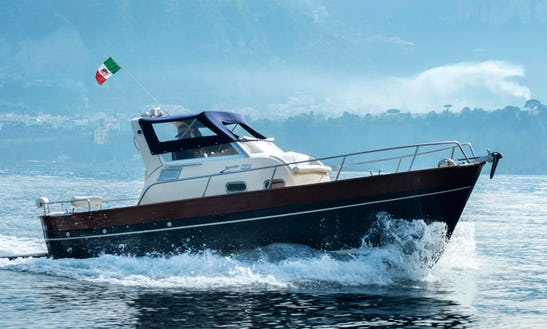 Captained Charters From Capri Campania On A Gozzo Jeranto 750 Classic