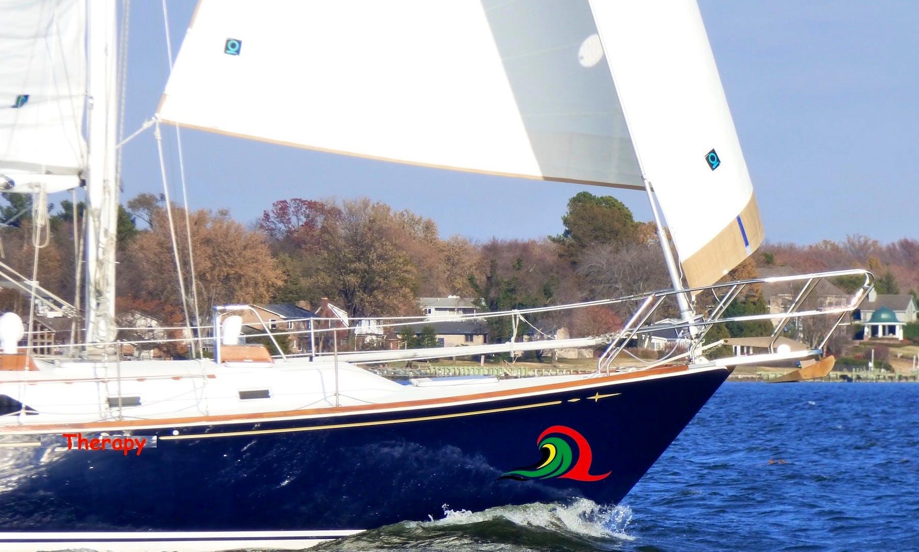 43' Sailboat Rental in Chesapeake Bay, Annapolis MD
