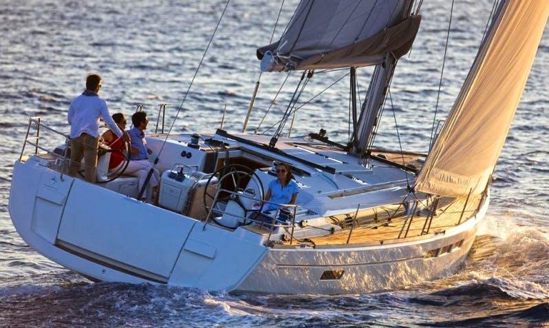 Charter 51' Sun Odyssey Cruising Monohull in Vigo, Spain