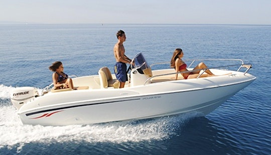 Charter 18' Tamare Jaguar Center Console In Tropea, Italy
