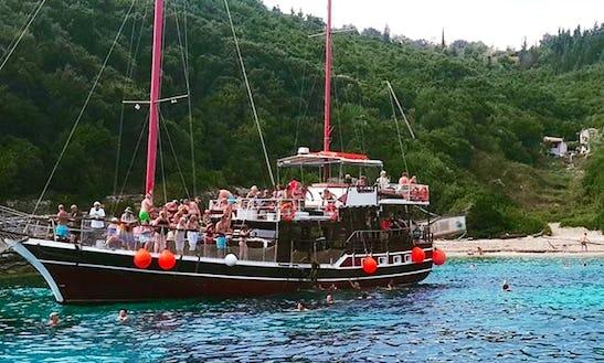 Charter Hook Gulet In Parga, Greece