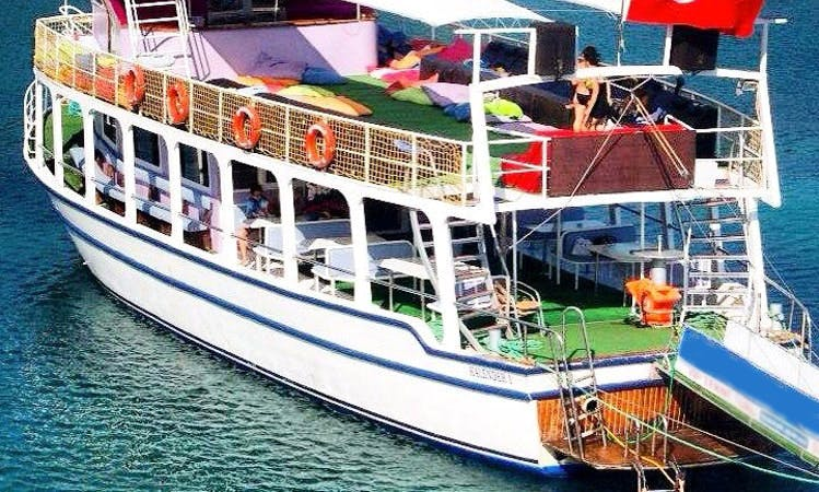 Island Tour on Passenger Boat in Sokak, Turkey