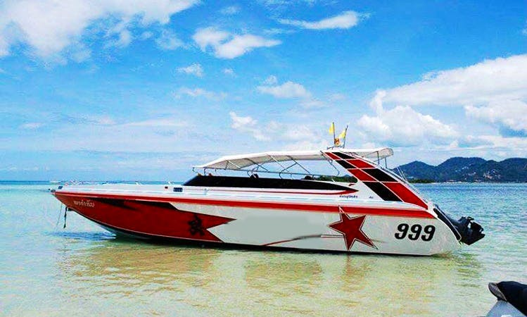 Experience the Gulf of Thailand - Charter a Bowrider in Ko Samui, Thailand