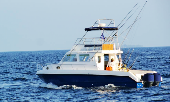 Fishing Charter On 38' Gulf Craft Maldives Yacht In Malé, Maldives