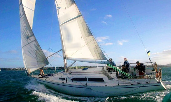Sailing Charters On 34ft Bruce Farr 1020 Yacht In Auckland, New Zealand
