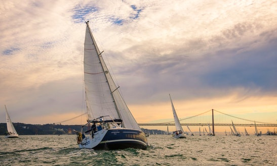 Private Sunset Sail Along The Tagus River With A Welcome Drink And
